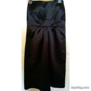 Strapless Little Black Dress Size 14